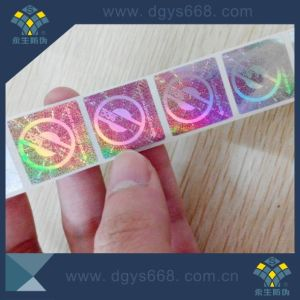 Accept Custom Laser Numbers Hologram Label pictures & photos