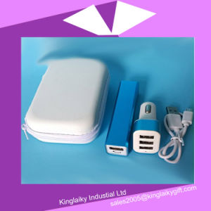 2016 Customized Promotional Gift Power Bank with Bag (KPB-001) pictures & photos