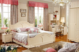 Classical MDF Bedroom Furniture Set (HF-MG602) pictures & photos