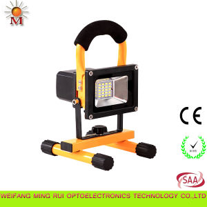 Rechargeable LED Floodlight LED Work Light with Ce, RoHS, SAA Certificates pictures & photos