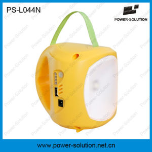 Portable Solar Lantern LED Lamp with Li-ion Battery and Mobile Charging pictures & photos