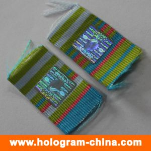 3D Laser Security Hologram Sticker for Cloth pictures & photos