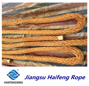Ultra High Molecolar Weight Polyethylene Ropes Mooring Rope pictures & photos