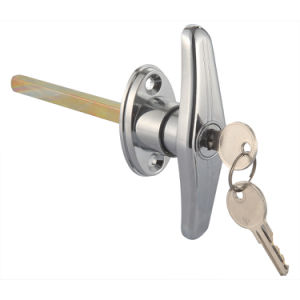 T-Lock for Shed Door Hardware/Wood Door Handle Lock pictures & photos