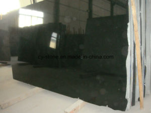 Chinese Absolute Black/Shanxi Black Granite Slabs for Floor/Wall/Tombstone/Countertop