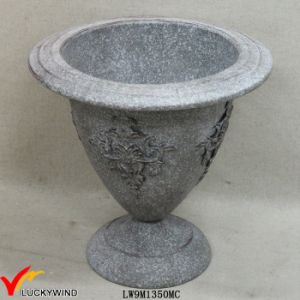 Rust Grey Decorative Antique Metal Vintage Garden Urns pictures & photos