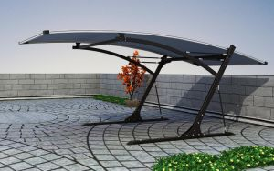 Modern Flat Roof Polycarbonate Carports pictures & photos