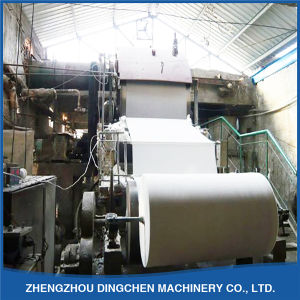 (1092mm) Small Scale Writing Paper Making Machinery with 5t/D pictures & photos