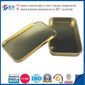 Hot Sale Slider Lid Metal Cigarette Box pictures & photos