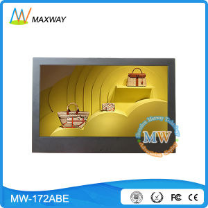 17 Inch Wall Mount 16: 10 Android Advertising Digital Signage with Poe pictures & photos