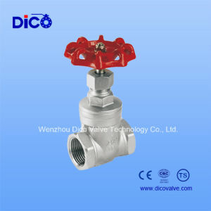 Bsp/BSPP/NPT Thread End Gate Valve with Ce Certificate pictures & photos