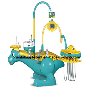CE and FDA Approved Children Dental Chair Unit with Dentist Stool pictures & photos