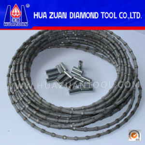 Grade a Diamond Cable Wire Saw for Granite Marble Profiling pictures & photos