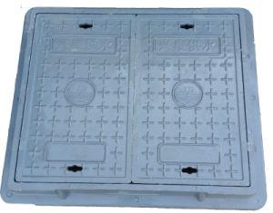 Two Doors Blue SMC/BMC Telecom Manhole Cover