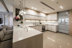2017 Modern Design White High Glossy Kitchen Cabinet Yb1709242 pictures & photos