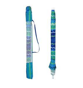 8FT Fiberglass Beach Umbrella (UPF 100+ - Heavy Duty)