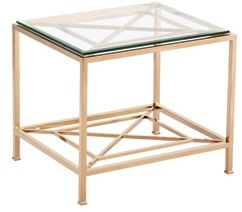 Rose Gold Finish Coffee Tea Table with Ss 201 Base Frame pictures & photos