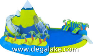 Popular Inflatable Snow Mountain Water Park for Amusement pictures & photos