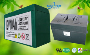 18650 Lithium Battery Pack 12V 67.2ah LiFePO4 Battery for Solar Power Battery pictures & photos