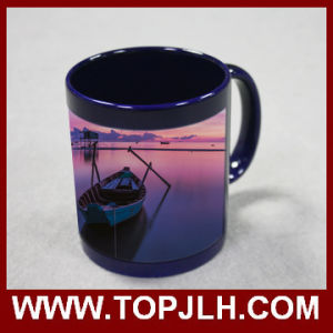 11oz Colorful Part Color Change Mug Magic Ceramic Cups pictures & photos