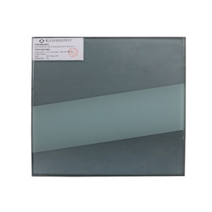 Reflective Construction Glass with Customized Design Strip Art Pattern pictures & photos