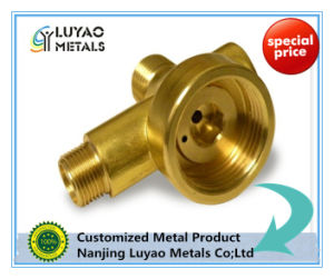 Machining Brass Connector for Valve Use pictures & photos