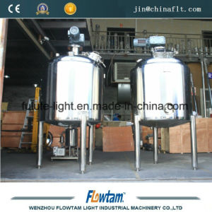 Stainless Steel 316L Double Jacketed Medical Mixing Tank pictures & photos