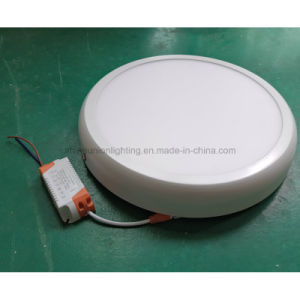 Curve Round LED Panel Light pictures & photos