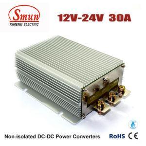 12V-24VDC 30A DC-DC Converter Car Power Supply with IP68 Waterproof pictures & photos