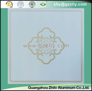 Noble Temperament with Stereovision Roller Coating Printing Ceiling Blooming Gold Flowers pictures & photos