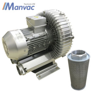 7HP Aluminum High Pressure Air Pump Side Channel Blower pictures & photos