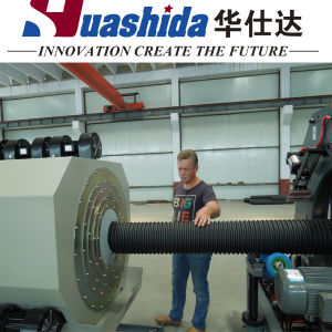 Extrusion Machinery for PE Double Wall Corrugated Pipe pictures & photos