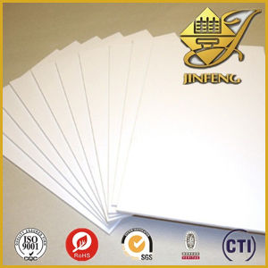 White Printable PVC Plastic Sheet for Business Card pictures & photos