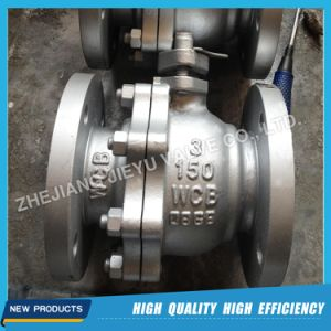 API Two Piece Ball Valve pictures & photos