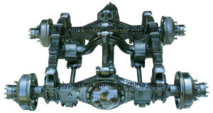 Truck Single Front Axle Double Rear Axle Housing pictures & photos