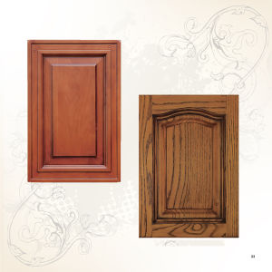 MDF Solid Core Wood Door (cabinet wood door) pictures & photos