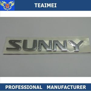 Custom Separate Silver Chrome 3D ABS Plastic Car Emblem pictures & photos