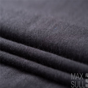 Machine Wash Wool Fabrics for Nightdress in Black pictures & photos