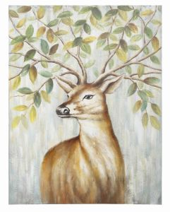 Sika Deer Abstract Canvas Art Painting for Living Room pictures & photos