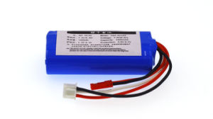 New 7.4V 18650 Lithium Battery 1500mAh 8.4V Li-Lon Rechargeable Batteries Aircraft Battery pictures & photos