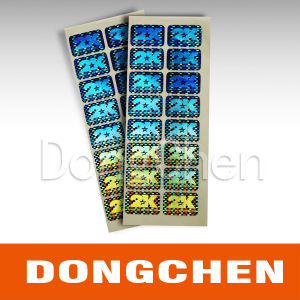 Customized Laser Effect Security 3D Hot Stamping Hologram Sticker pictures & photos