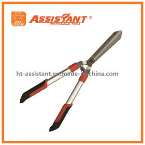 Drop Forged Straight Blade Hedge Shears with Anodized Aluminum Handles pictures & photos