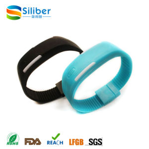 Promotional Customized Logo LED Silicone Watch pictures & photos
