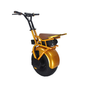 18 Inches Monowheel Electric Motorcycle with Handle/E-Brake pictures & photos