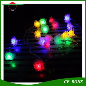 Solar Holiday Light Rose Flower Solar String Light 7m 50LEDs Trees Decorative Lights Waterproof Rose Garden Outdoor Christmas Solar LED Fairy Light pictures & photos
