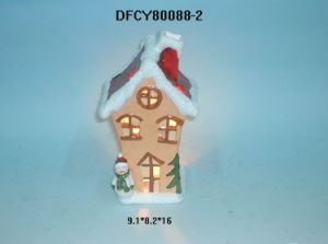 New Design Christmas Ceramic Candle Holder pictures & photos