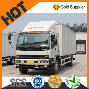 Japan High Quality Diesel Van Cargo Truck (FVR) for Best Price pictures & photos