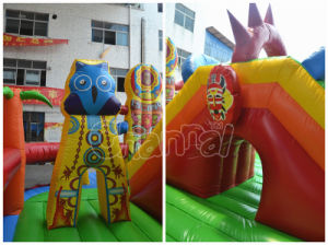 2017 Funcity Inflatable Obstacle Course for Park pictures & photos