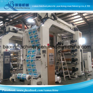 Belt Drive Flexo Printing Machinery with Video Inspect pictures & photos
