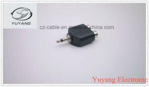 3.5mm Mono Plug to 2xrca Jacks pictures & photos